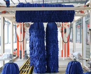 隧道九刷带风干洗车机
