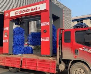 龙门五刷洗车机发货山东郯城